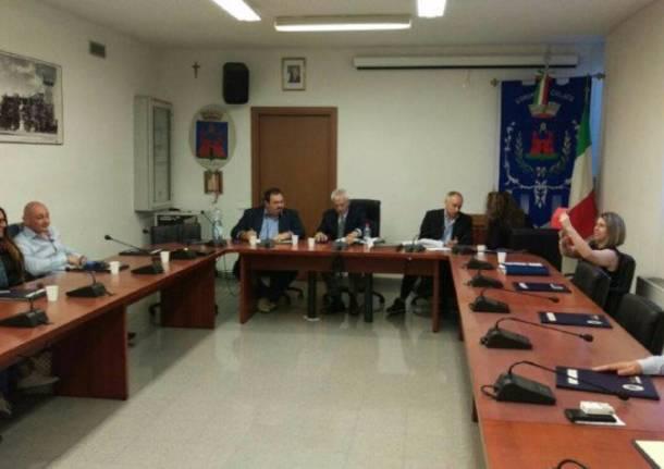 Il primo consiglio comunale di Cislago