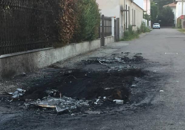 Incendio via Trevisio