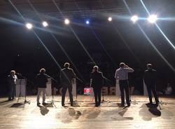 L'ultima sfida, i candidati sul palco