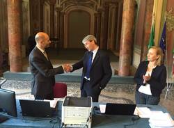 La proclamazione di Davide Galiberti, nuovo sindaco di Varese