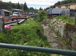 LaMessa in sicurezza del torrente Vellone