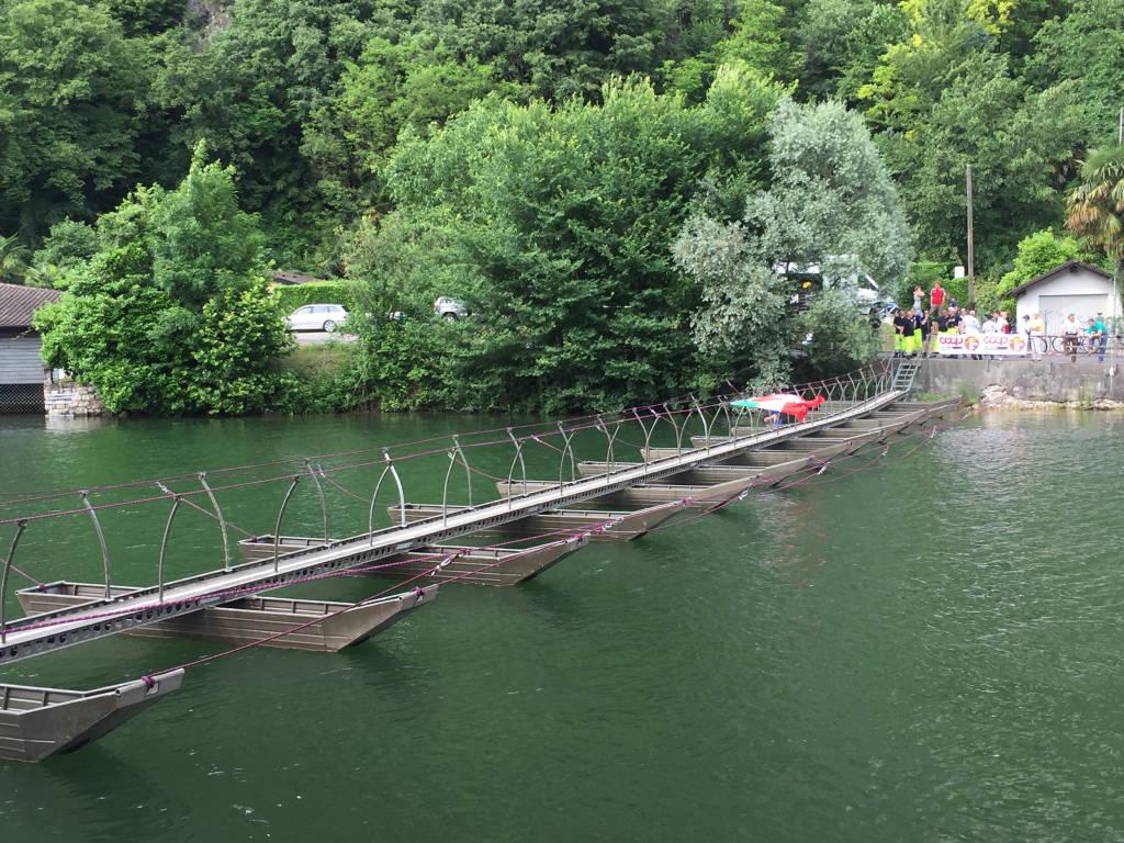 Lavena ponte Tresa - la passerella sul Ceresio