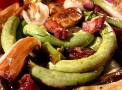 Liégeoise di zucchine e calçots