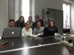 maturità 2016. studio di gruppo all'oratorio di Velate