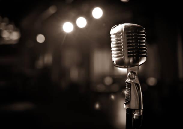 Microfono musica cantante generica