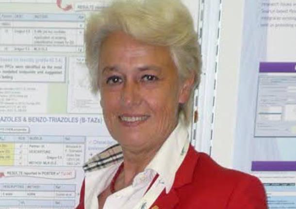 Paola Gramatica docente di chimica