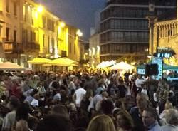 piazza Gallarate sera  notte