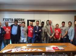 presentazione festa del rugby varese 2016