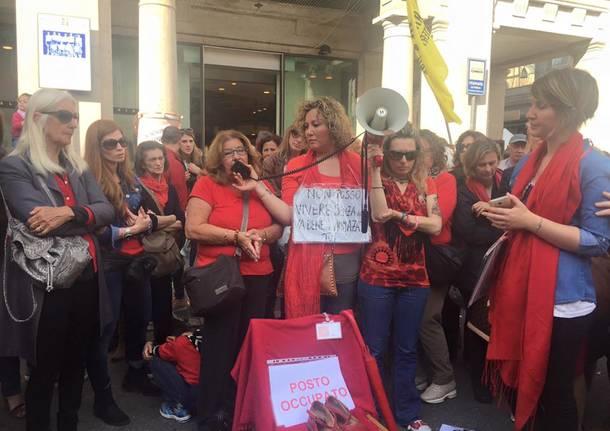 Presidio a Varese per dire no al femminicido