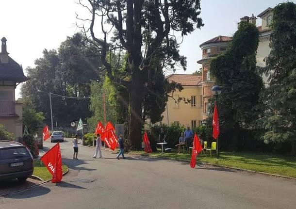presidio sindacale alla Quiete