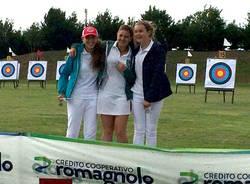 squadra femminile CAM arco compound giovanile