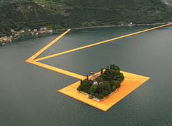The Floating Piers, tutto pronto per l'inaugurazione