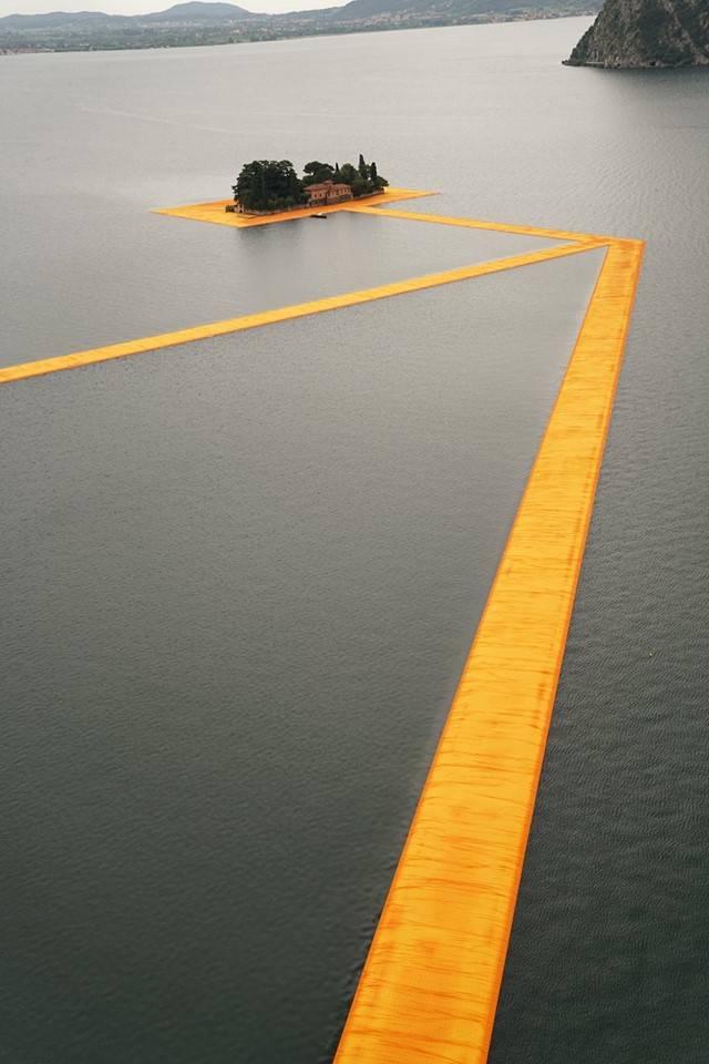 The Floating Piers, tutto pronto per l'inaugurazione