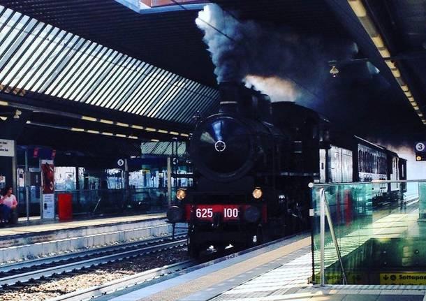 treno a vapore Rho Fiera