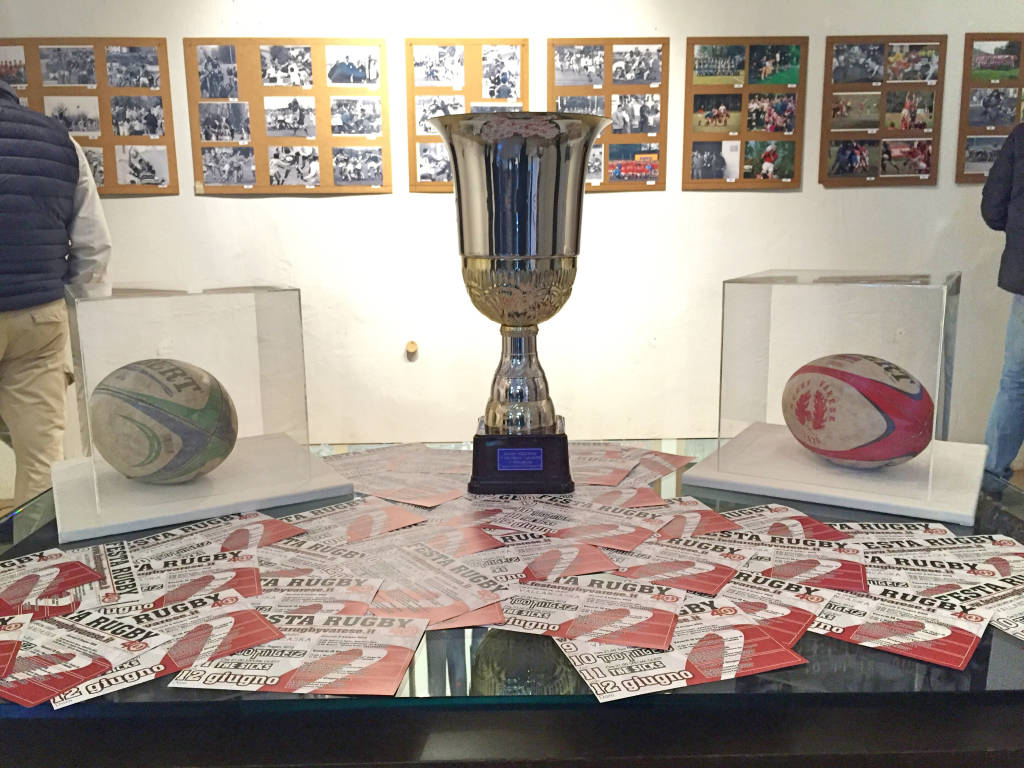 Una mostra per i 40 anni di Rugby Varese