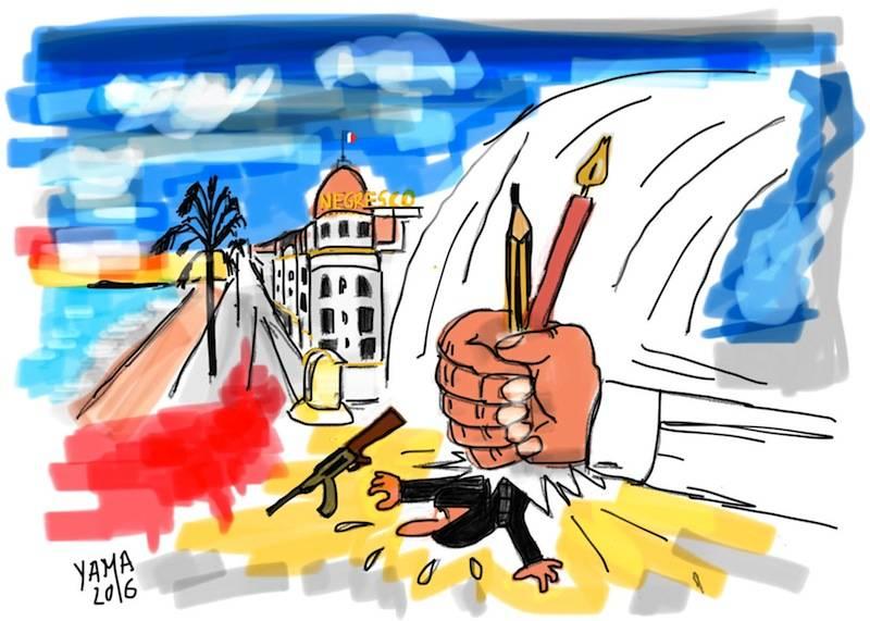 14 luglio: la mia città ferita