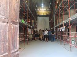 Cairate - il restauro della chiesa sant'ambrogio e martino