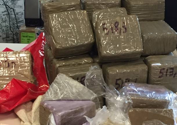 carabinieri droga hashish 1 luglio busto arsizio