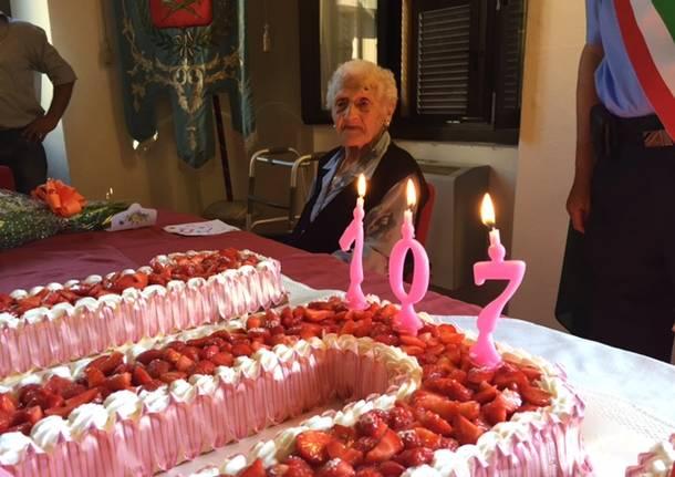 Nonna Maria compie 107 anni