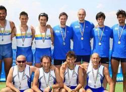 Cinque medaglie per la Canottieri Varese ai campionati italiani master
