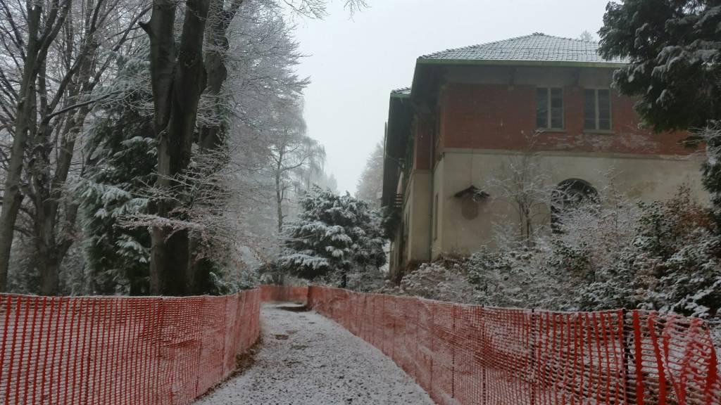 Il villaggio alpino in vendita