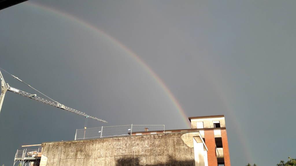 Doppio arcobaleno a Lonate Ceppino