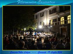 CARAVATE: il ritorno della filarmonica a Villa Letizia