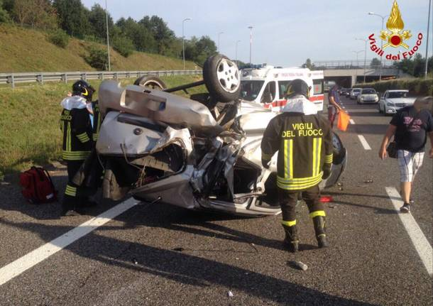 L'incidente sulla statale 336