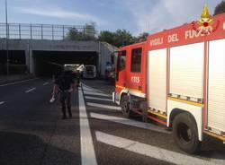 L\'incidente sulla superstrada di Malpensa