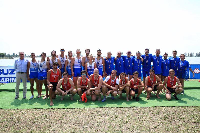 Canottieri Gavirate, otto medaglie ai campionati italiani master