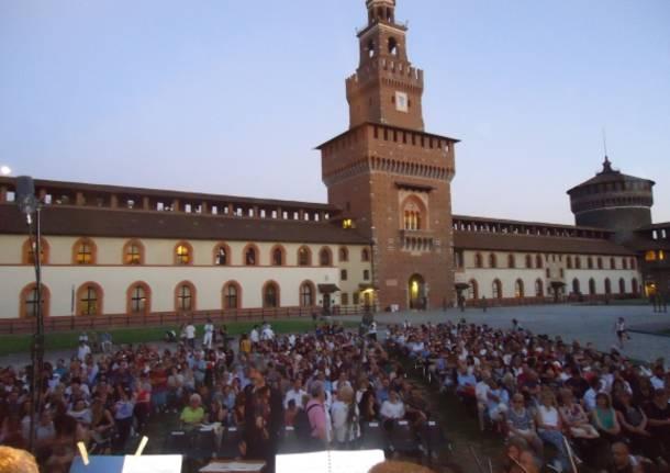 Venegono Inferiore, Grande successo di pubblico per Ars Cantus ad Olgiate Comasco e al Castello Sforzesco