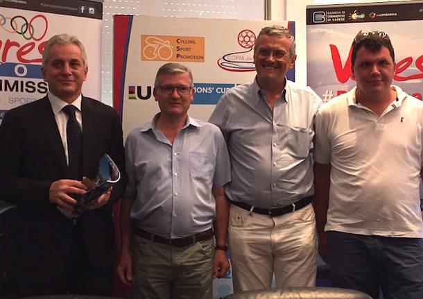 ciclismo presentazione trofeo almar 2016
