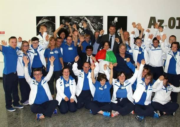 delegazione lombarda paralimpiadi sindrome di down