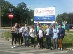 Erasmus : studenti nella sede Finmeccanica in Polonia