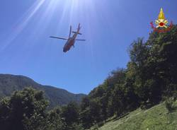 Escursionisti recuperati in Val Grande