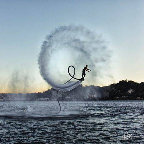 Flyboard ad Angera