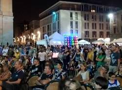 Gallarate piazza notte sera