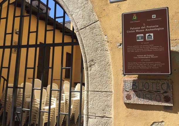 Il museo archeologico di Angera