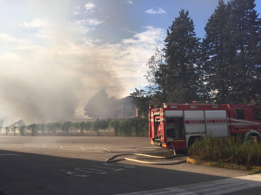 incendio Castellanza