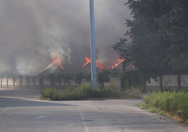incendio ex peplos castellanza