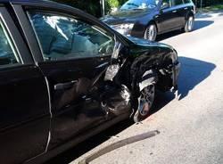 Incidente stradale ad Azzate