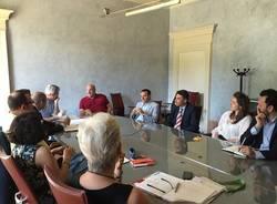 incontro tra il sindaco Galimberti e il rettore Coen Porisini