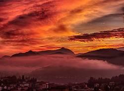 L'alba dà spettacolo - foto di Roberto Garoscio