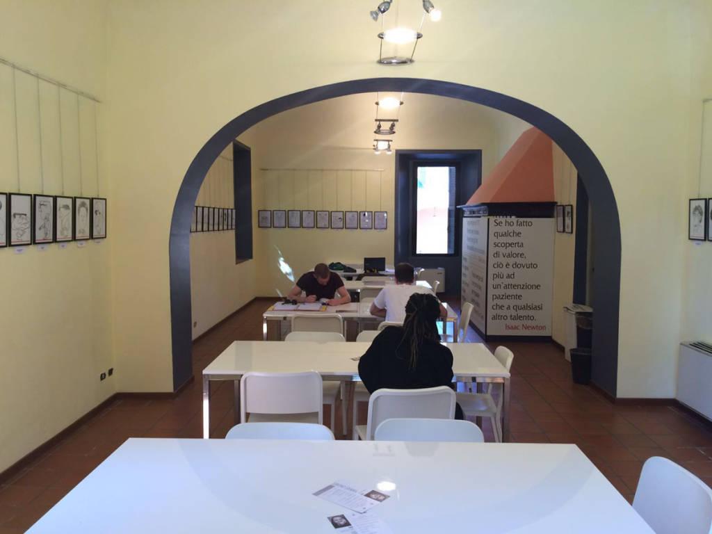 L'aula studio di Vedano Olona
