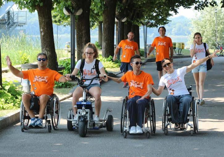 La summer camp dei ragazzi con la spina bifida