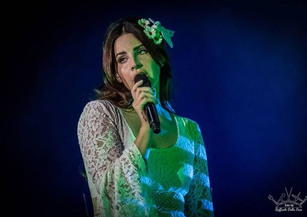 Lana Del Ray in concerto a Moon and Stars