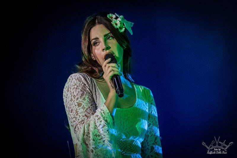 Lana Del Rey in concerto a Moon and Stars - Lugano
