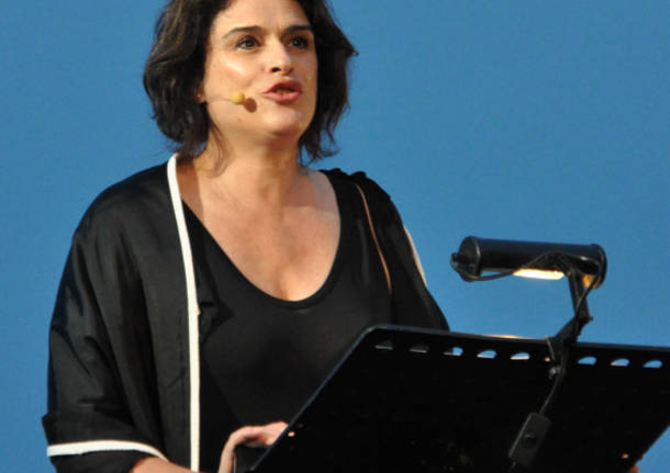 Laura Marinoni in scena al Sacro Monte