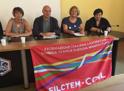 Lorena Panzeri nuova segretariua Filctem Cgil Varese