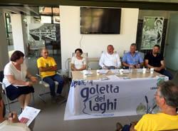Lavena Ponte Tresa - conferenza stampa goletta 2016